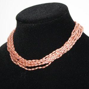Vintage rose 15 inch necklace